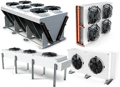 dry coolers unit coolers condensers UK
