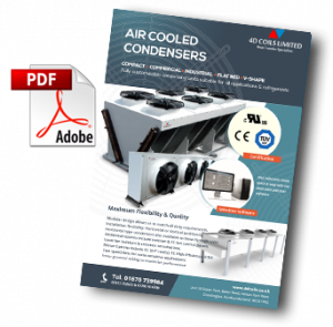 air cooled condensers 4d coils