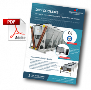 flyer dry coolers air blast